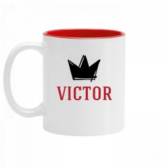 Personalized King Victor Mug