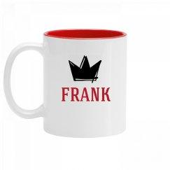 Personalized King Frank Mug