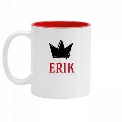 Personalized King Erik Mug