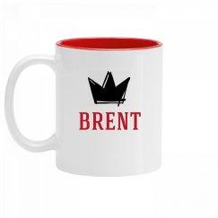 Personalized King Brent Mug