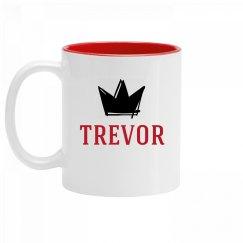 Personalized King Trevor Mug