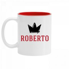 Personalized King Roberto Mug