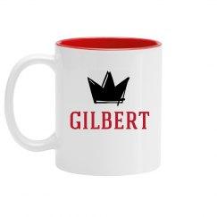 Personalized King Gilbert Mug