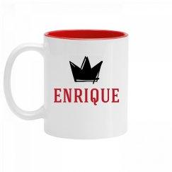 Personalized King Enrique Mug