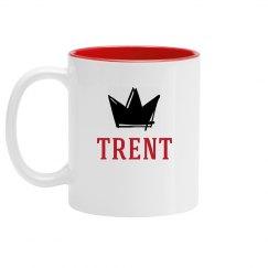Personalized King Trent Mug