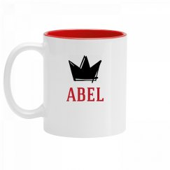 Personalized King Abel Mug