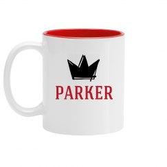Personalized King Parker Mug