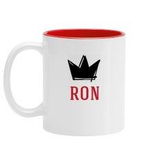 Personalized King Ron Mug