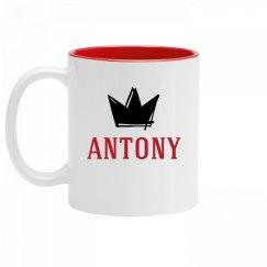 Personalized King Antony Mug