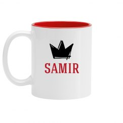 Personalized King Samir Mug