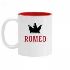 Personalized King Romeo Mug