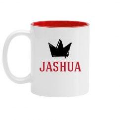 Personalized King Jashua Mug