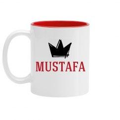 Personalized King Mustafa Mug