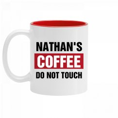 Nathan's Coffee Do Not Touch