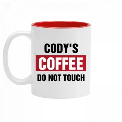 Cody's Coffee Do Not Touch