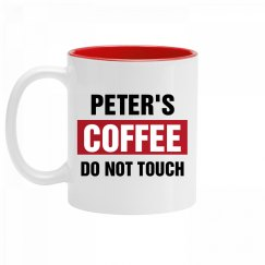 Peter's Coffee Do Not Touch