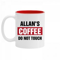 Allan's Coffee Do Not Touch