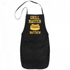 Grill Master Matthew