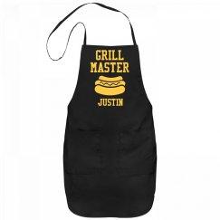 Grill Master Justin