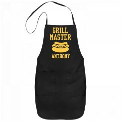 Grill Master Anthony