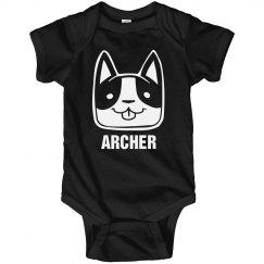 ARCHER Cute Puppy Onesie