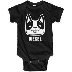 DIESEL Cute Puppy Onesie