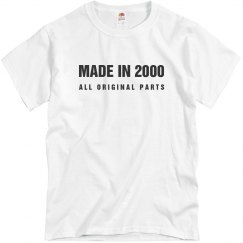 Made In 2000 All Original Parts