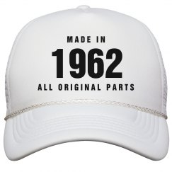 Made In 1962 Birthday Snapback