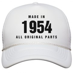 Made In 1954 Birthday Snapback