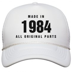 Made In 1984 Birthday Snapback