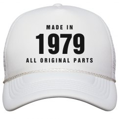 Made In 1979 Birthday Snapback