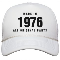 Made In 1976 Birthday Snapback