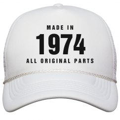Made In 1974 Birthday Snapback
