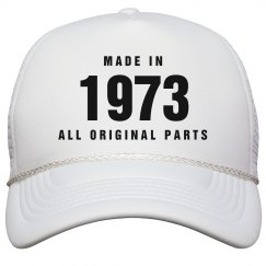 Made In 1973 Birthday Snapback
