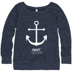 Navy Sister Anchor Strong