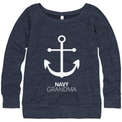 Navy Grandma Anchor Strong
