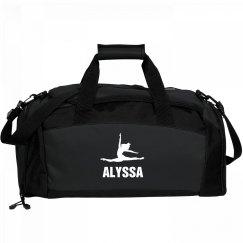 Girls Dance Bag For Alyssa