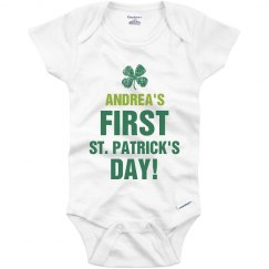 Andrea's First St. Patricks
