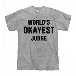 World's Okayest Judge