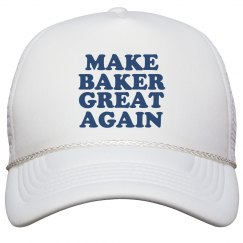 Make Baker Great Again Hat