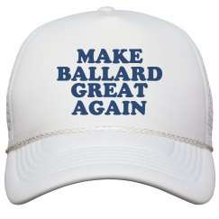 Make Ballard Great Again Hat