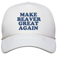 Make Beaver Great Again Hat