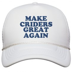 Make Criders Great Again Hat