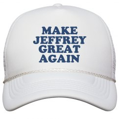 Make Jeffrey Great Again Hat
