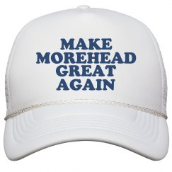 Make Morehead Great Again Hat