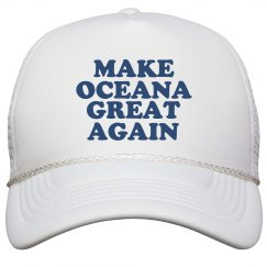 Make Oceana Great Again Hat