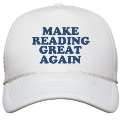 Make Reading Great Again Hat