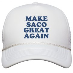 Make Saco Great Again Hat