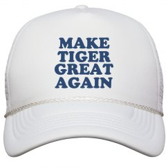 Make Tiger Great Again Hat