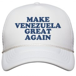 Make Venezuela Great Again Hat